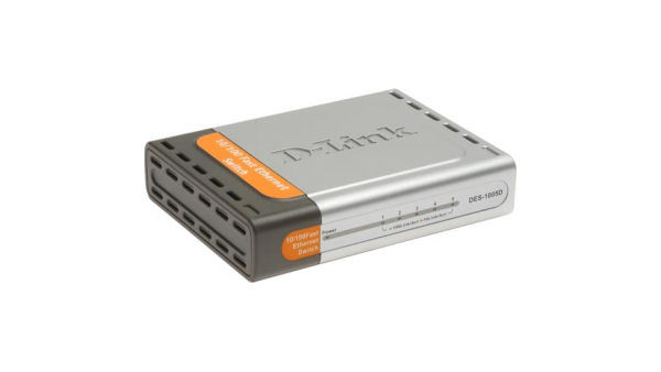 D-Link DES-1005D Fast Ethernet 5-Port Switch