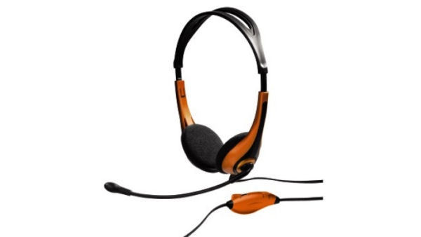 Hama PC Headset HS 250 Gold Stereo