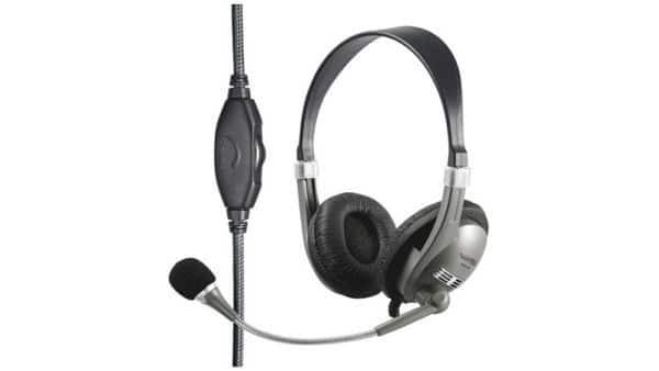 Wintech WH-41 Kopfhörer silber/schwarz
