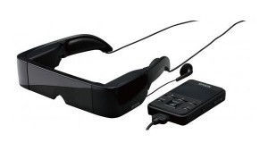 Epson präsentiert halbtransparente Videobrille