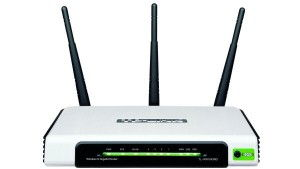 TP-Link TL-WR1043ND 300Mbps Ultimate Wireless Netzwerk Gigabit Router