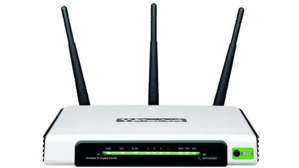 TP-Link TL-WR1043ND 300Mbps Ultimate Wireless Netzwerk Gigabit Router