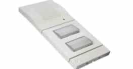 Die Telegärtner DoorLine a/b T01/T02 gibt es wahlweise in den Farben Weiß und Silber. Bildnachweis: Telegärtner