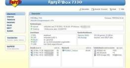 Über die Benutzeroberfläche FRITZ!OS können sämtliche Einstellungen des Routers per Mausklick geändert werden.