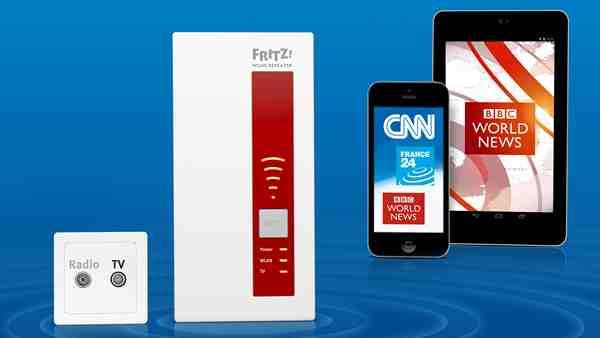 FRITZ!WLAN Repeater DVB-C, Bildnachweis: AVM