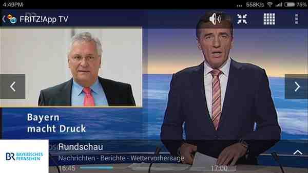 Bevor TV-Programme mit der FRITZ!App TV empfangen werden können, muss der DVB-C Repeater konfiguriert werden. Der Aufwand hält sich dabei aber in Grenzen. Screenshot: PCDAILY